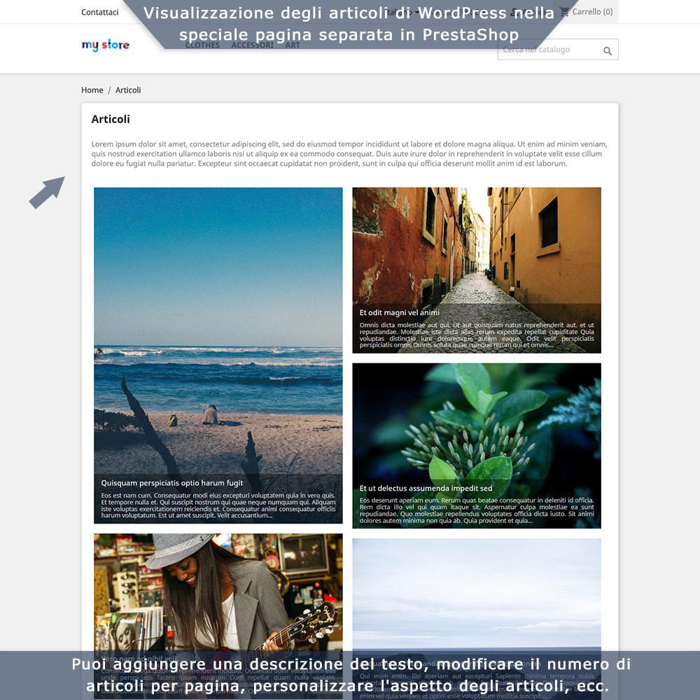 module - Blog, Forum & News - Integrazione bidirezionale PrestaShop e WordPress - 4