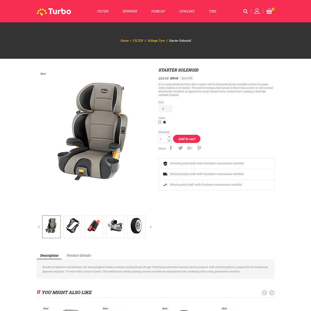 theme - Auto & Moto - Ricambi per motori - Negozio di attrezzi per auto - 6