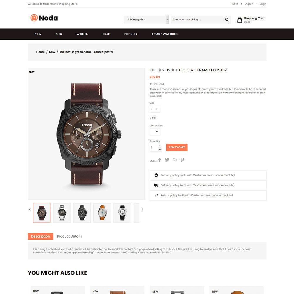 theme - Jewelry & Accessories - Noda Watch Accessories  - Fashion Store - 4
