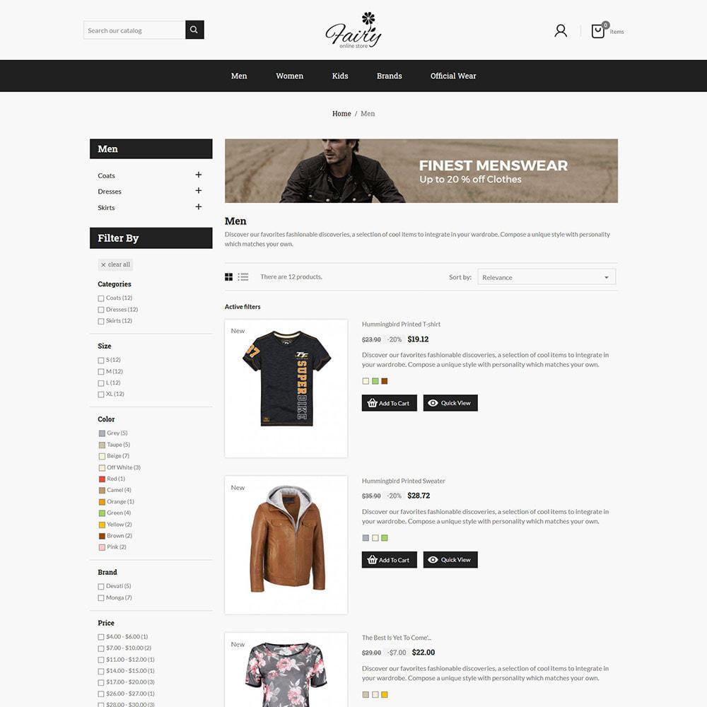 theme - Fashion & Shoes - Fairy Cloth Shirt  - Fashion Accessories Store - 4