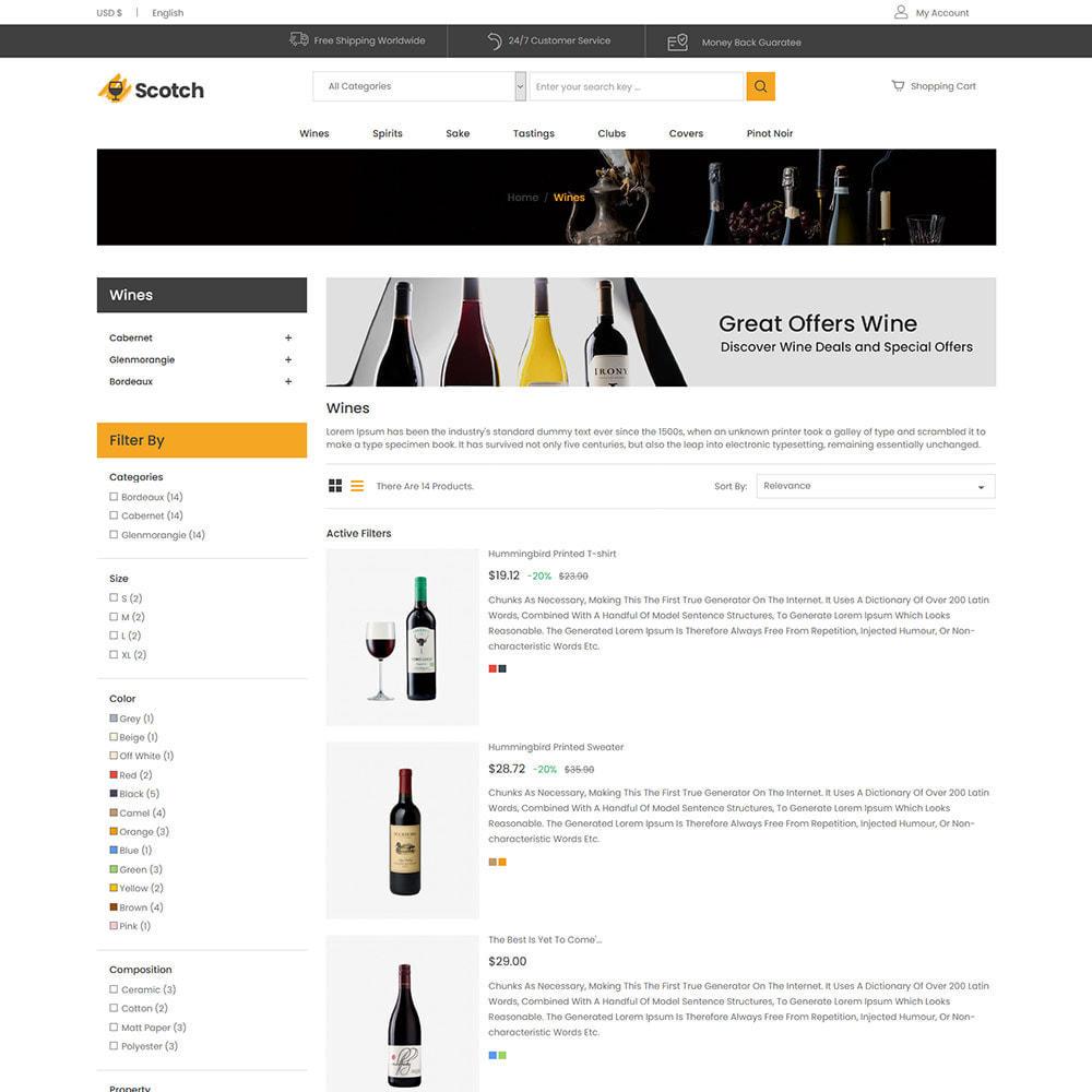 theme - Bebidas y Tabaco - Scotch Wine - Tienda de bebidas alcohólicas - 5