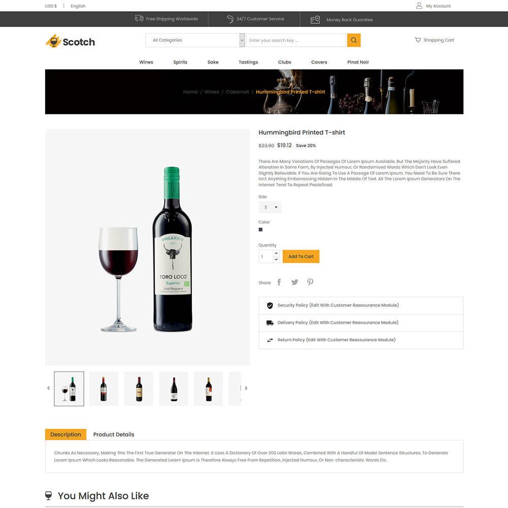theme - Bebidas y Tabaco - Scotch Wine - Tienda de bebidas alcohólicas - 6