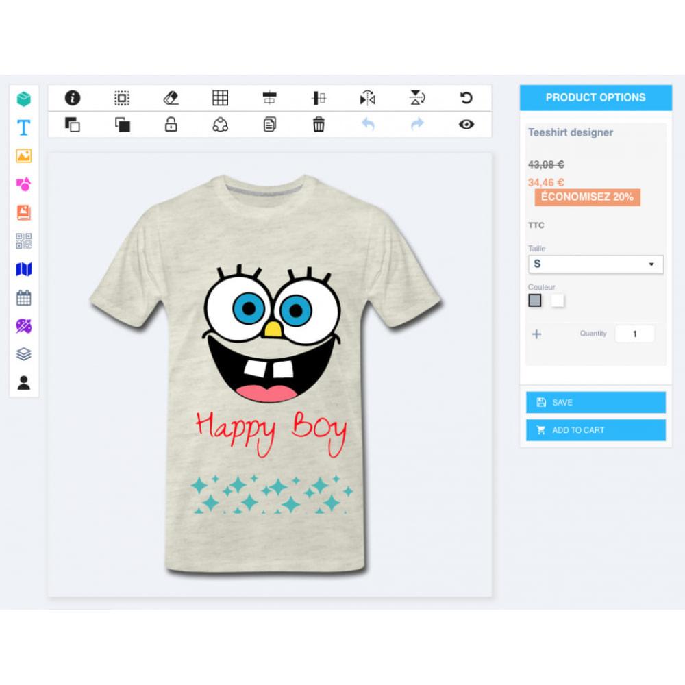 module - Combinations & Product Customization - Product Designer Studio - 5
