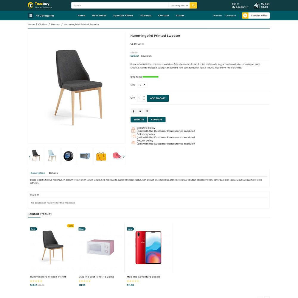 theme - Elektronik & High Tech - Tozzbuy - Super Market Multipurpose Store - 5