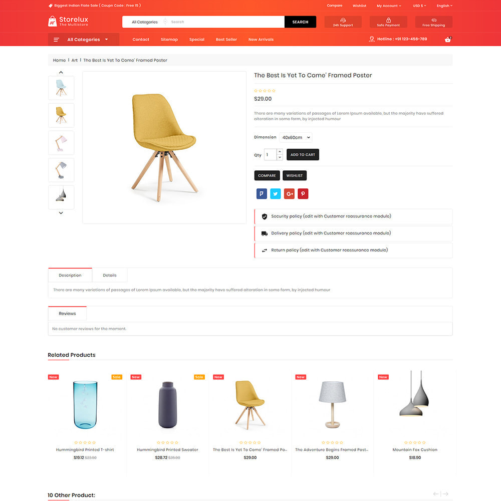 theme - Elettronica & High Tech - Storelux - Multipurpose Furniture Store - 5