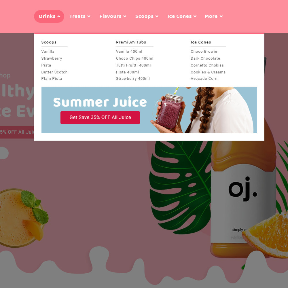 theme - Drink & Tobacco - Summer Juices & Shakes - 9