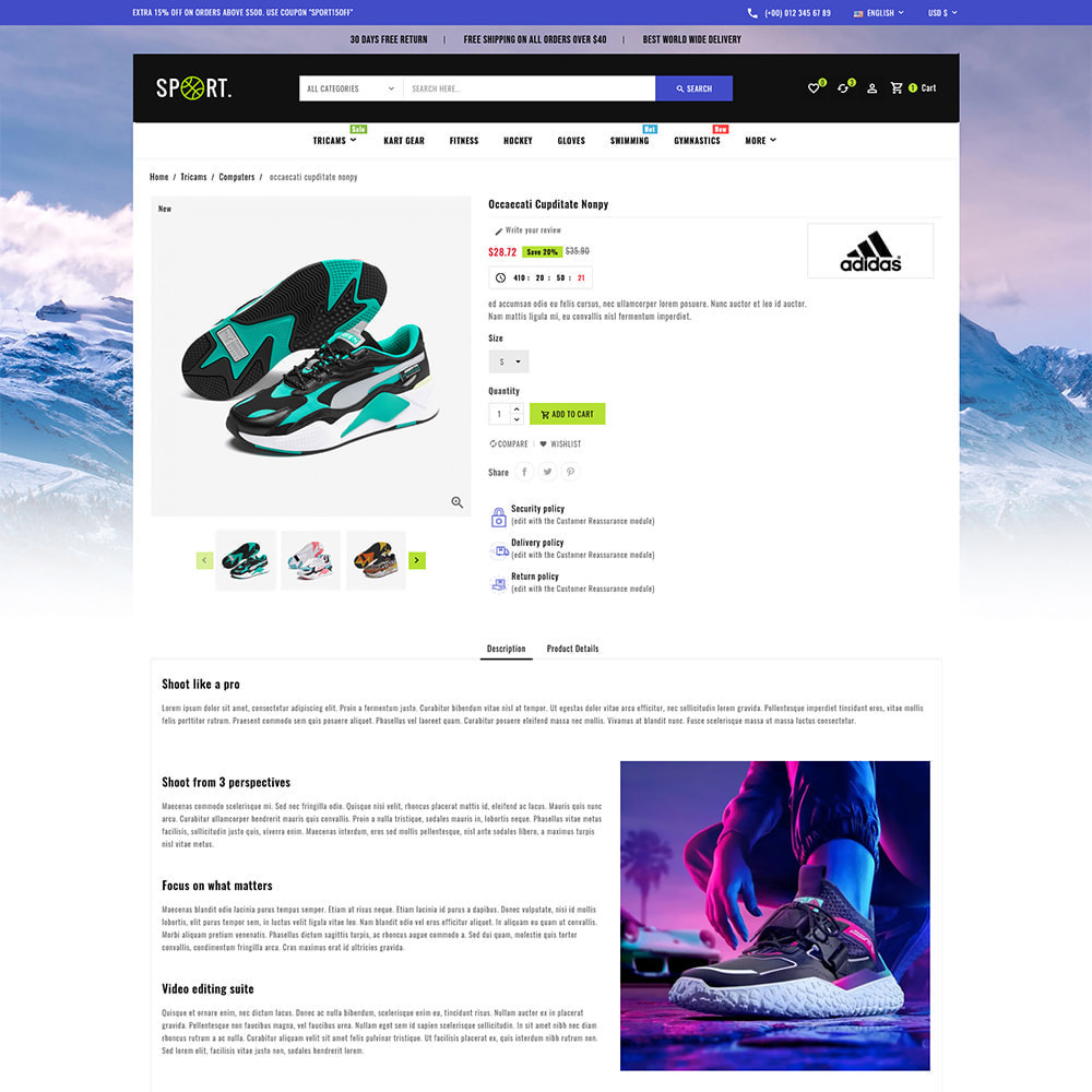 theme - Sports, Activities & Travel - Sports - Travel Store - 8