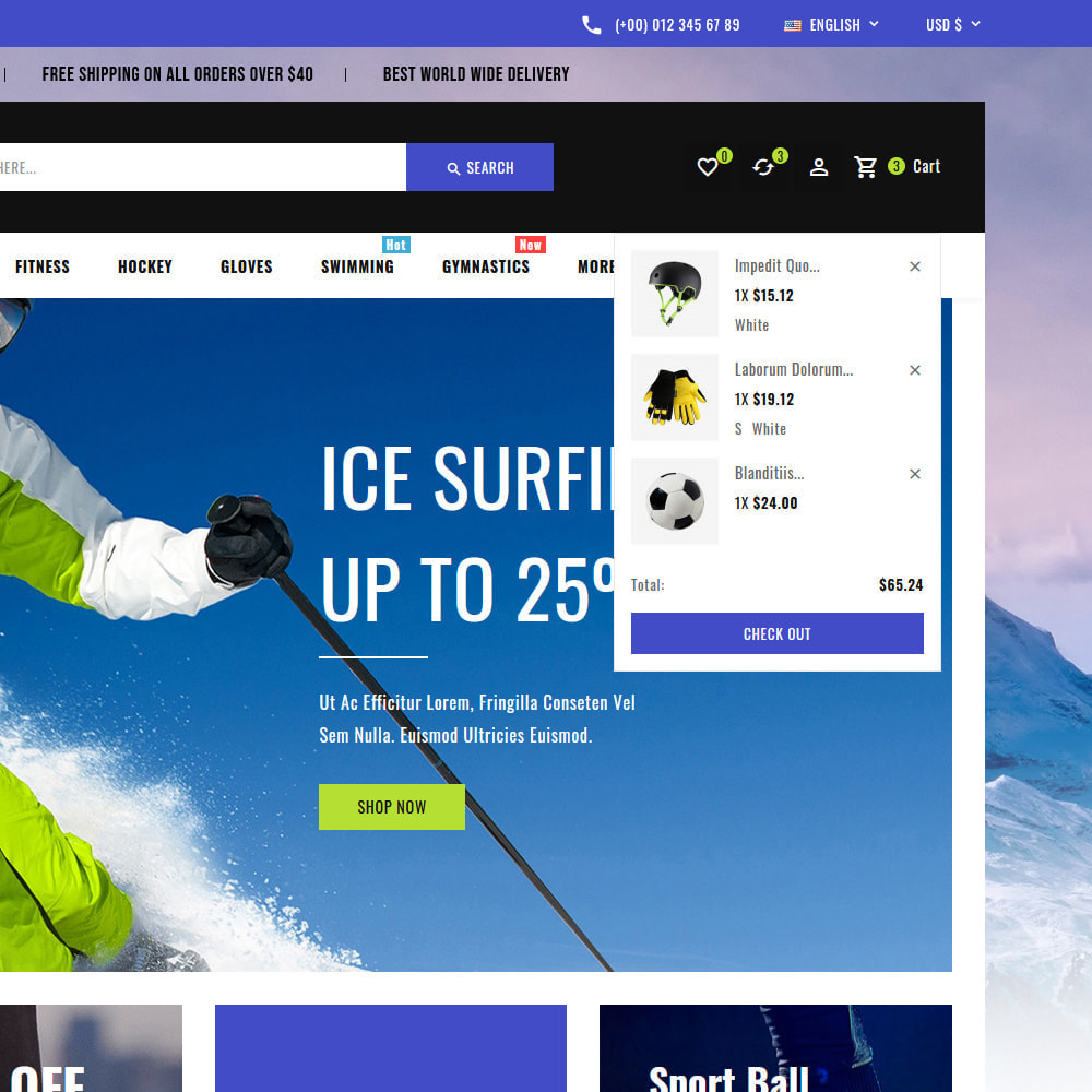 theme - Sports, Activities & Travel - Sports - Travel Store - 14