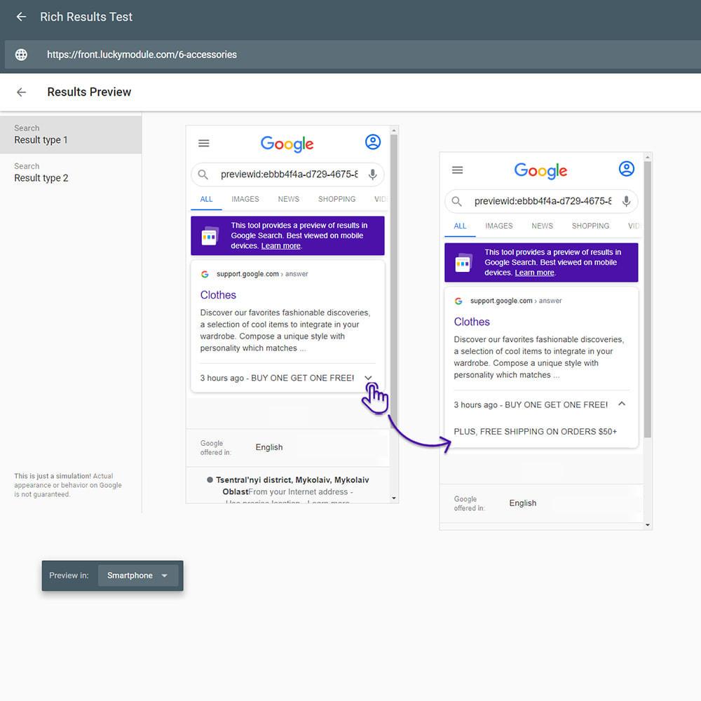 module - SEO (Indicizzazione naturale) - Google Special Announcement & SEO Schema Data Markup - 1