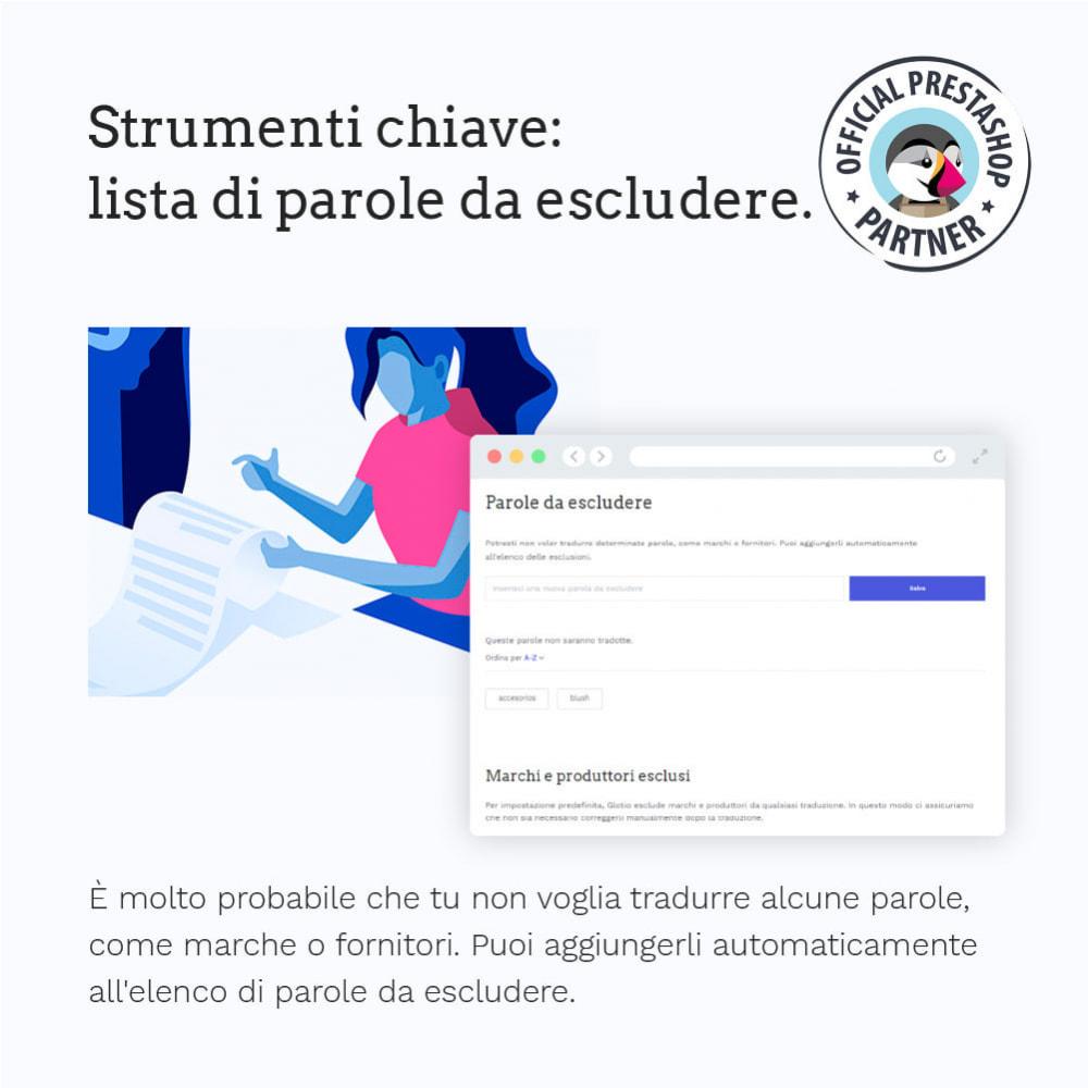 module - Lingue & Traduzioni - Glotio - Traduci il tuo PrestaShop in oltre 50 lingue - 9