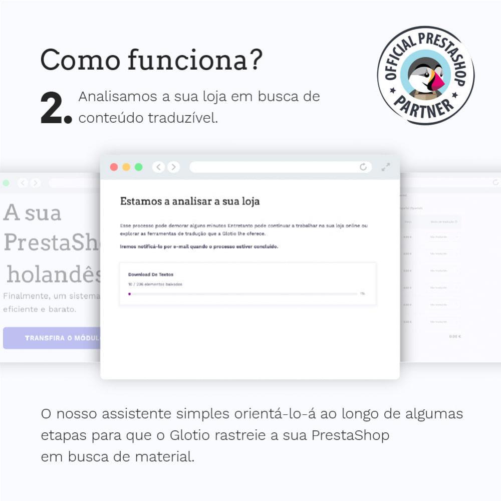 module - Internacional & Localização - Glotio - Traduza a sua PrestaShop em mais de 50 idiomas - 5