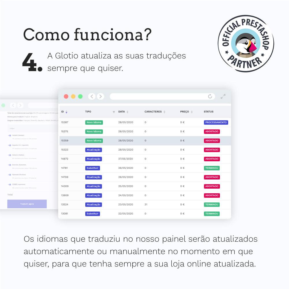 module - Internacional & Localização - Glotio - Traduza a sua PrestaShop em mais de 50 idiomas - 7