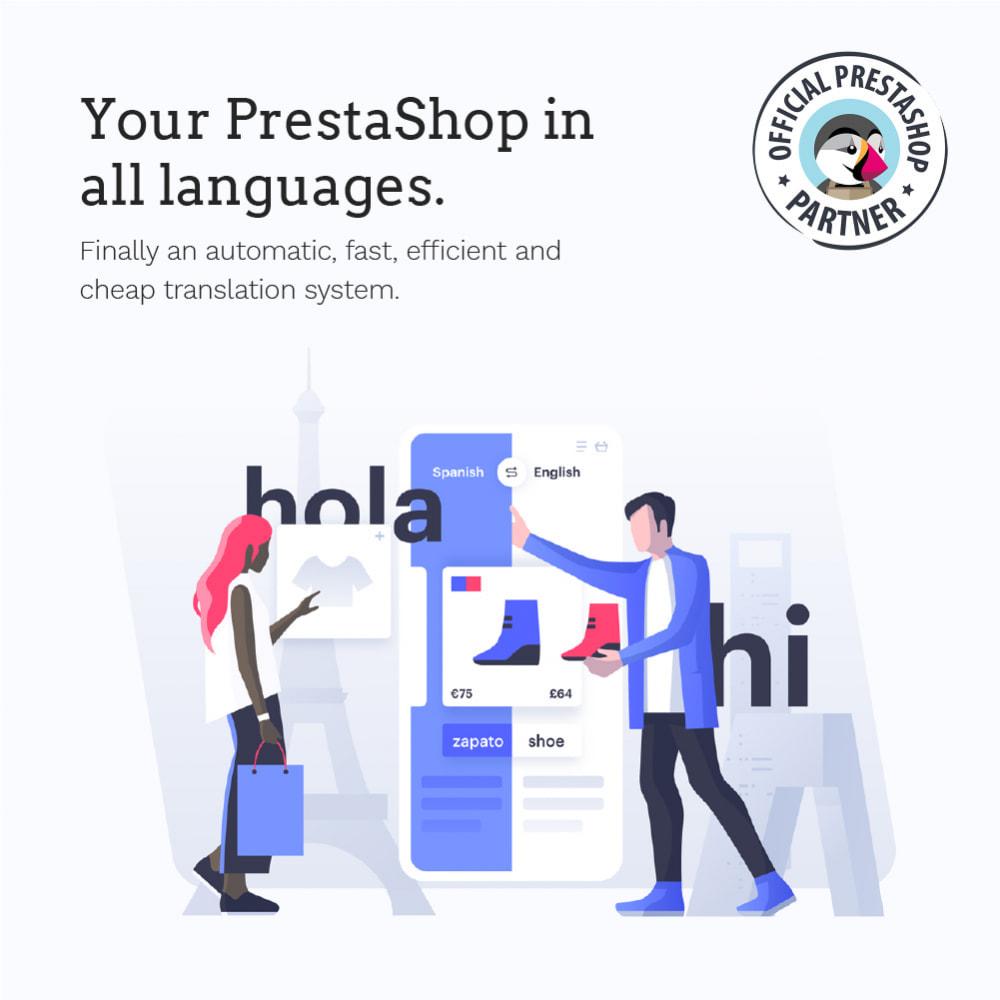 module - International & Localization - Glotio - Translate your PrestaShop in over 50 languages - 2