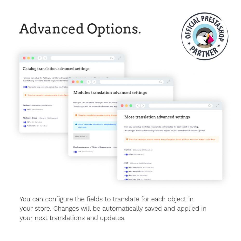 module - International & Localization - Glotio - Translate your PrestaShop in over 50 languages - 14