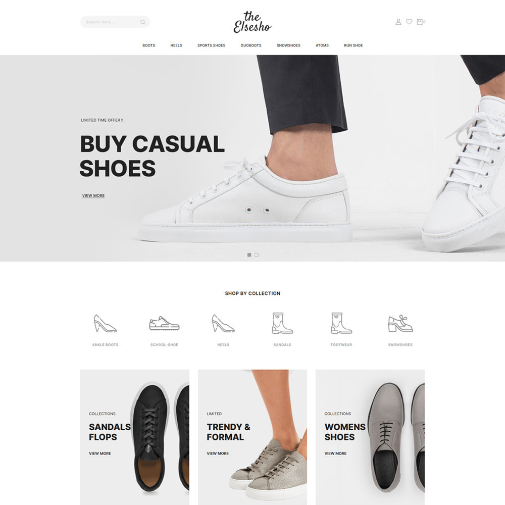 theme - Mode & Schoenen - Elsesho - Fashion & Shoes Store - 2