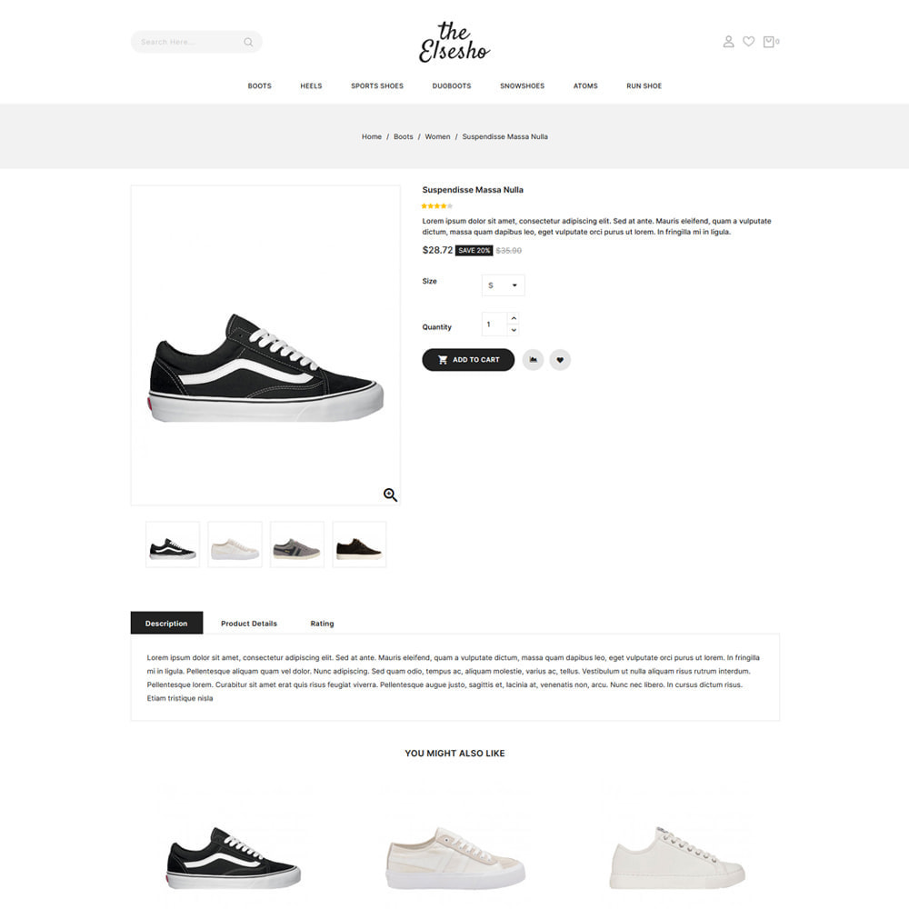 theme - Mode & Schoenen - Elsesho - Fashion & Shoes Store - 4