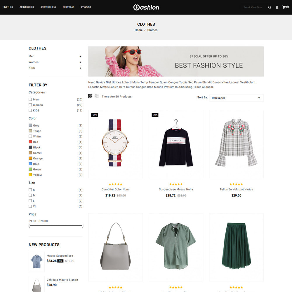 theme - Mode & Chaussures - Fashion Store - 3