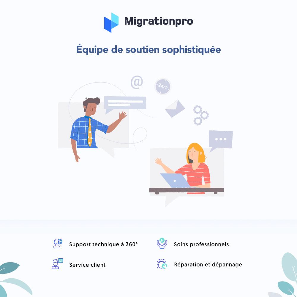 module - Migration de Données & Sauvegarde - Outil de migration WooCommerce vers PrestaShop - 8