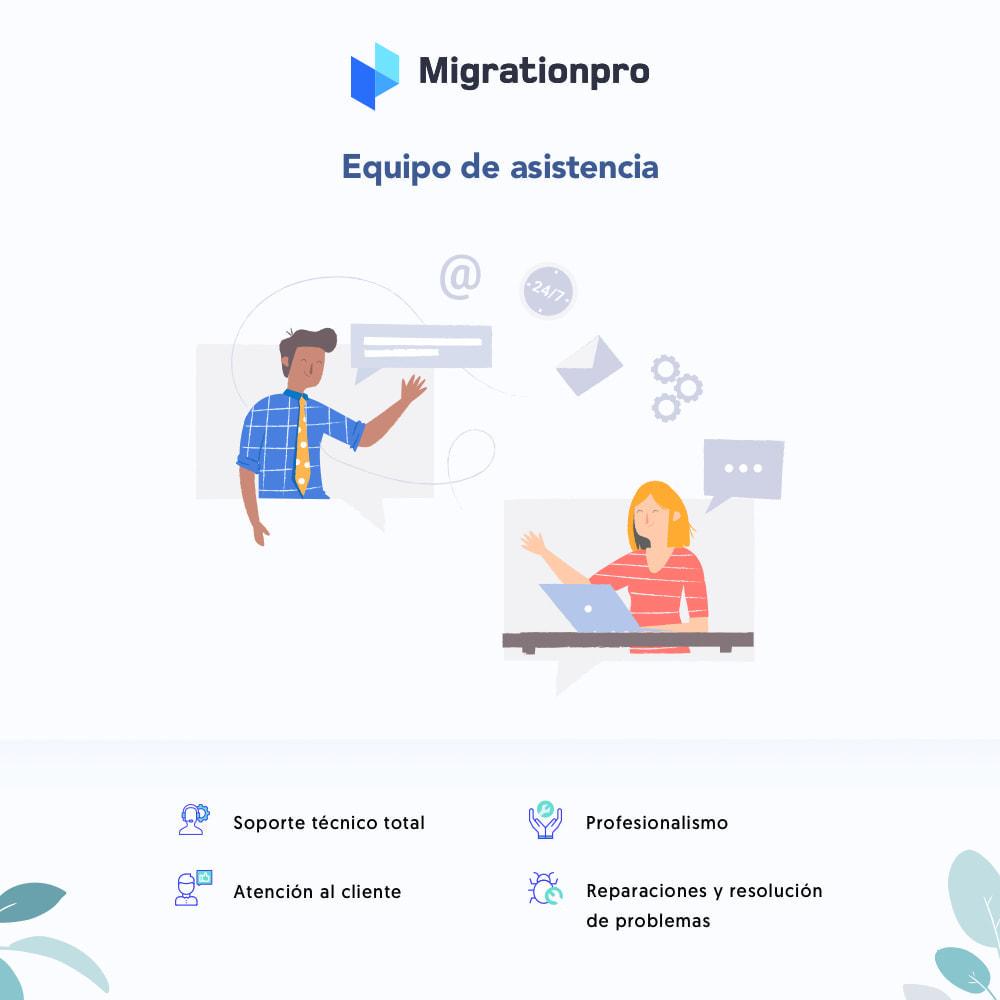 module - Migración y Copias de seguridad - Herramienta de migración de WooCommerce a PrestaShop - 8
