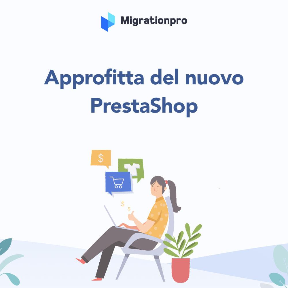 module - Data Migration & Backup - Strumento di migrazione da WooCommerce a PrestaShop - 9