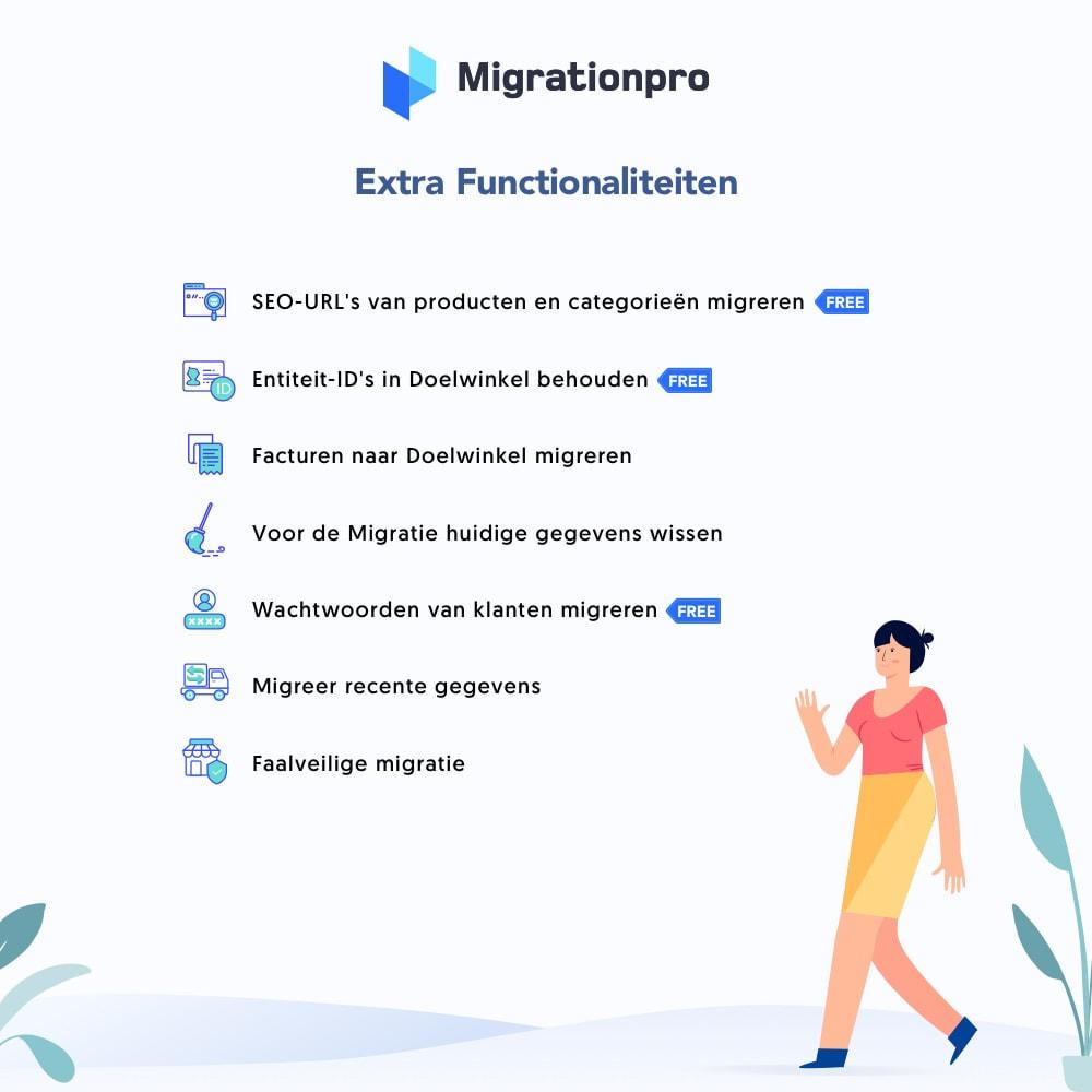module - Migratie & Backup - WooCommerce naar PrestaShop migratie- tool - 5