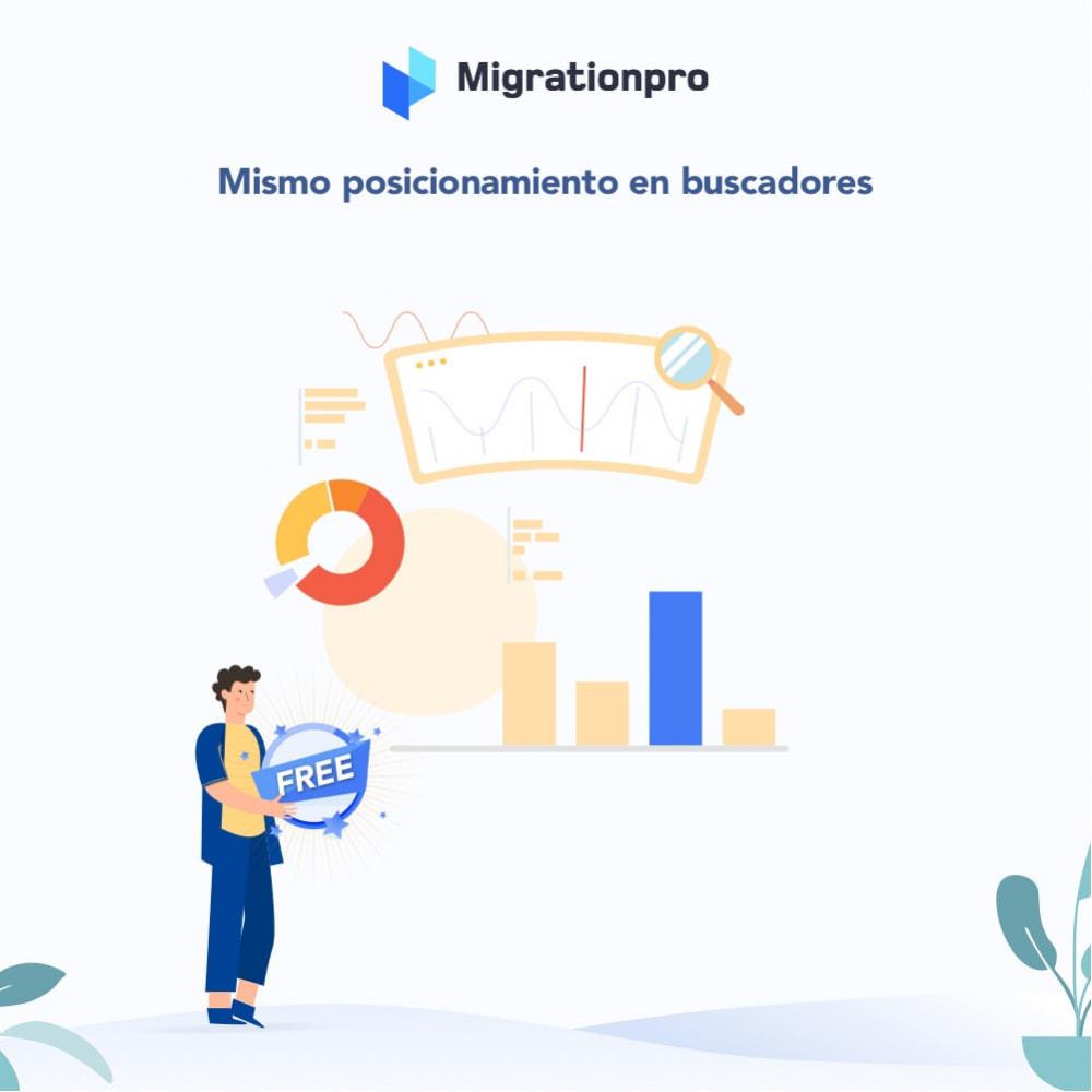 module - Migración y Copias de seguridad - Herramienta de migración de Magento a PrestaShop - 3
