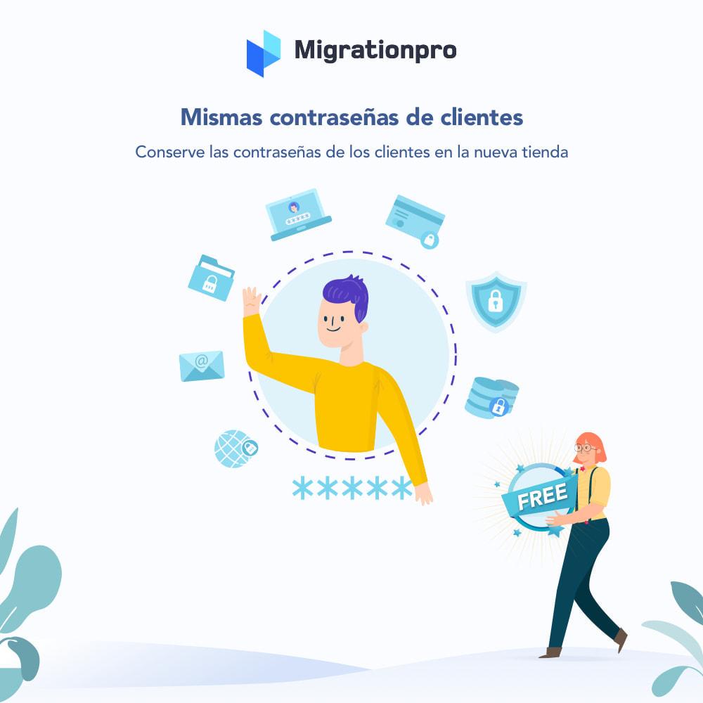 module - Migración y Copias de seguridad - Herramienta de migración de Magento a PrestaShop - 4