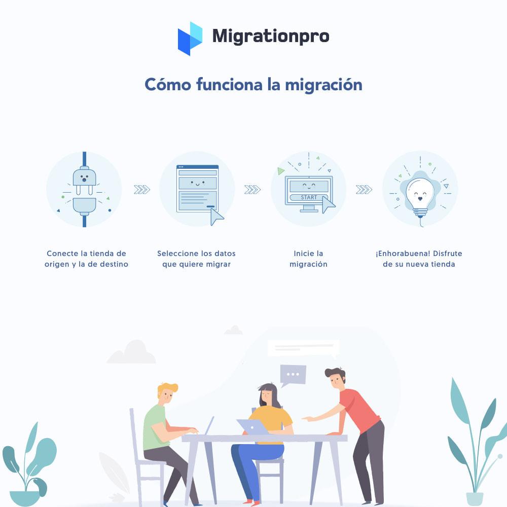 module - Migración y Copias de seguridad - Herramienta de migración de Magento a PrestaShop - 7
