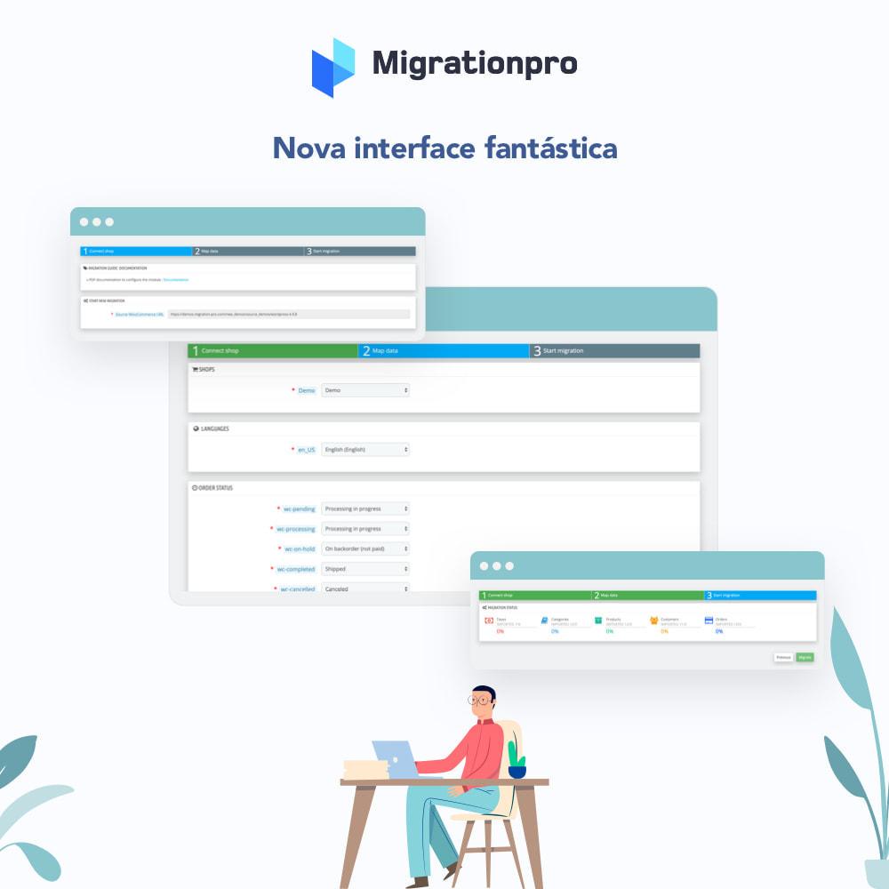 module - Migração de Dados & Registro - Ferramenta de Migração de Magento para PrestaShop - 6