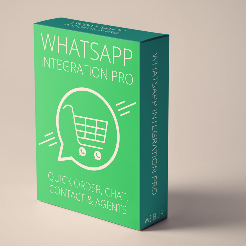 module - Ondersteuning & Online chat - WhatsApp Integration PRO - Bestil, chat, agenter - 1