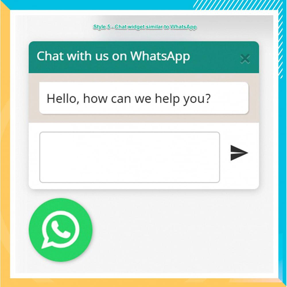 module - Ondersteuning & Online chat - WhatsApp Integration PRO - Bestil, chat, agenter - 16
