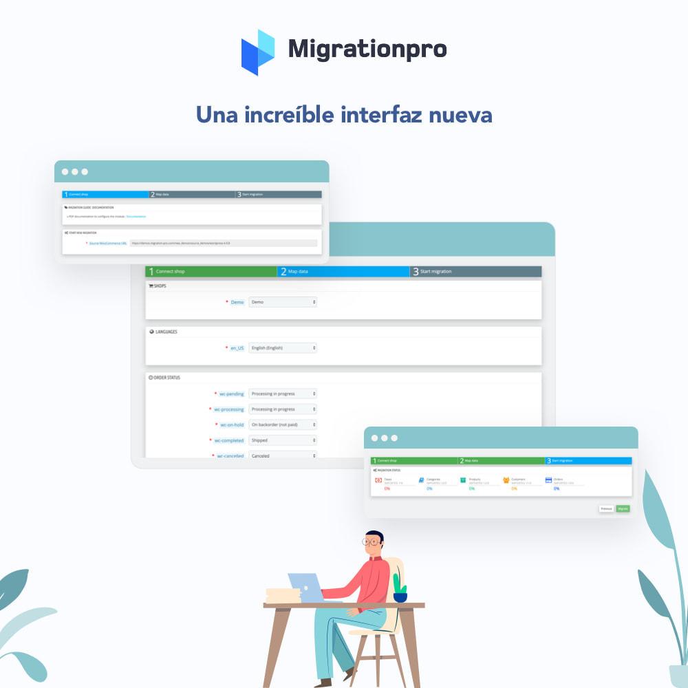 module - Migración y Copias de seguridad - Herramienta de migración de VirtueMart a PrestaShop - 6