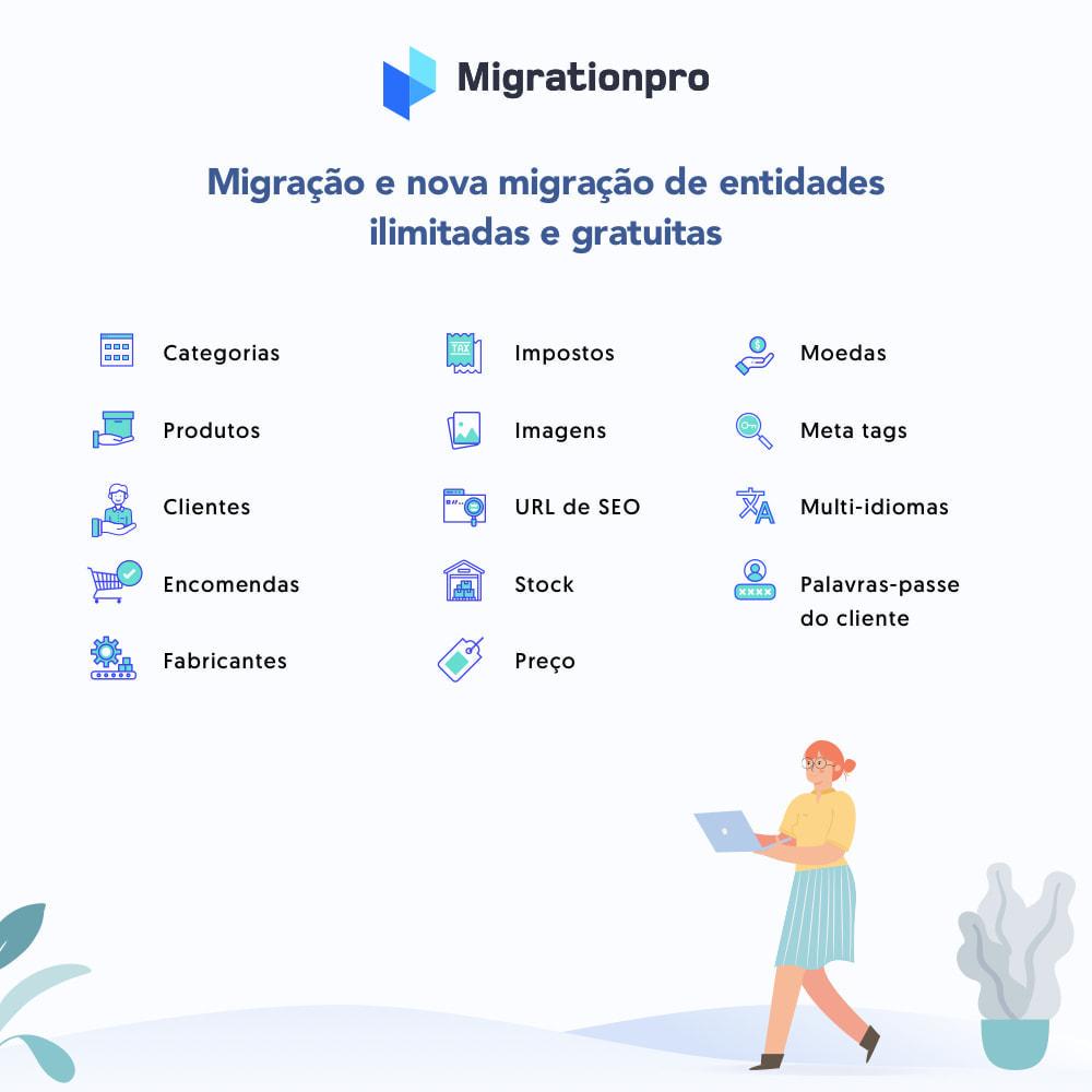 module - Migração de Dados & Registro - Ferramenta de Migração de VirtueMart para PrestaShop - 2