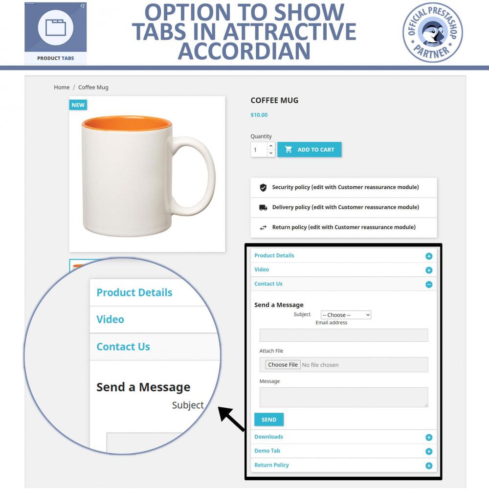 module - Informação Adicional & Aba de Produto - Product Tabs - Add Extra Custom Tabs - 5