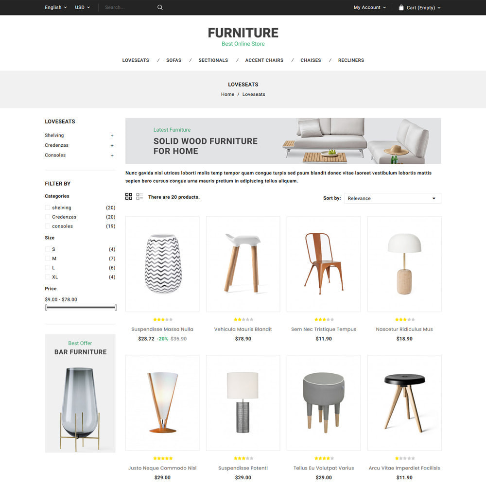 theme - Heim & Garten - Furniture Online Store - 3