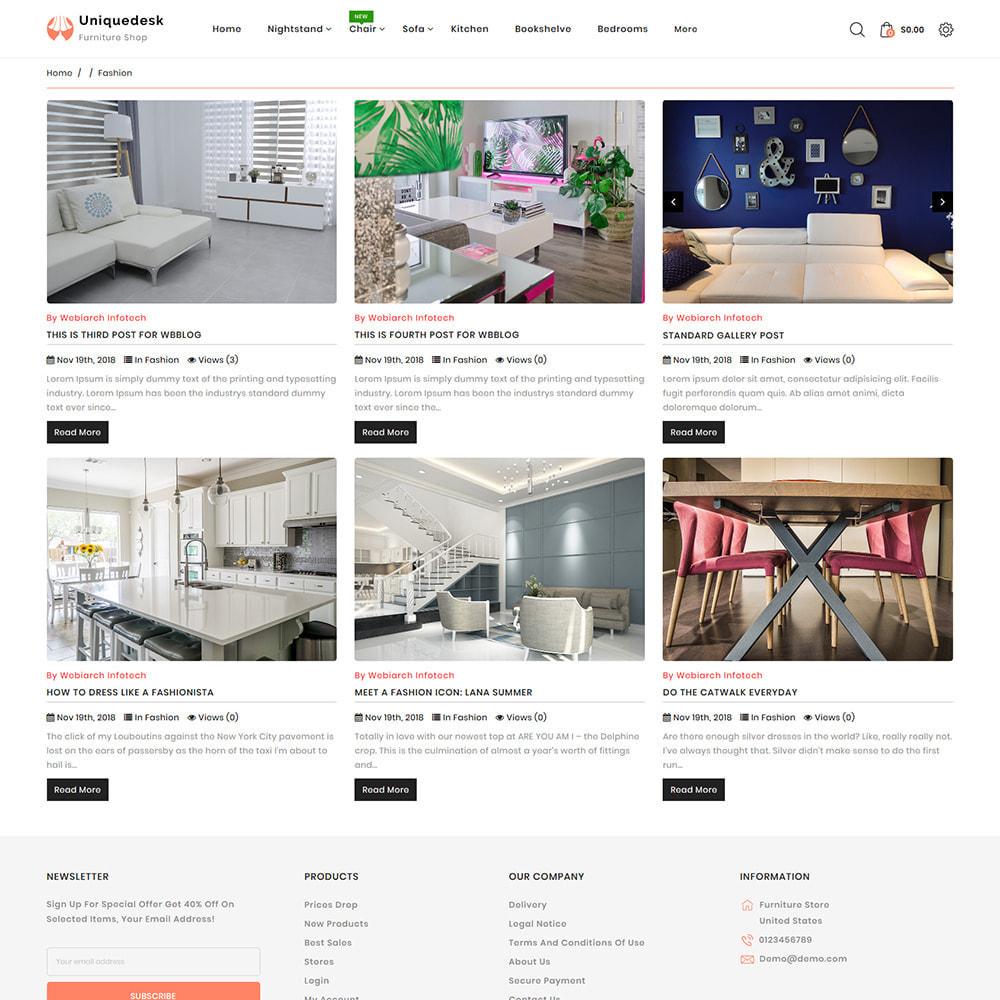 theme - Casa & Jardins - Uniquedesk - Modern Furniture Store - 6