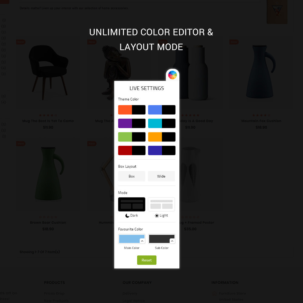 theme - Casa & Jardins - Uniquedesk - Modern Furniture Store - 8