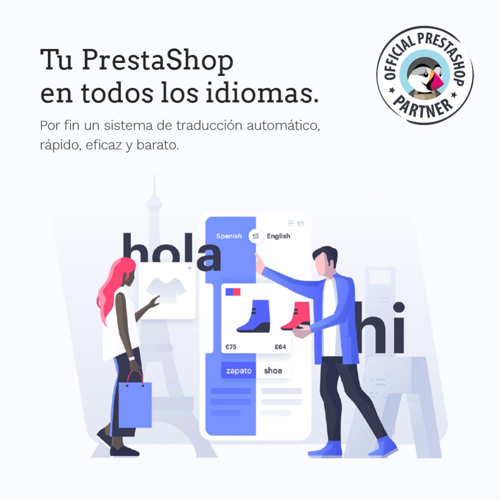 module - Internacionalización y Localización - Glotio - Traduce tu PrestaShop a más de 50 idiomas - 2