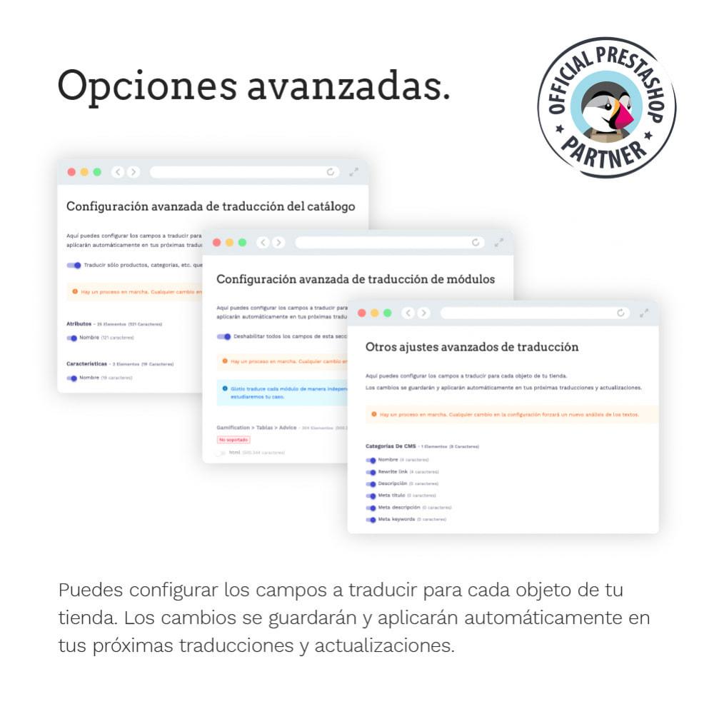 module - Internacionalización y Localización - Glotio - Traduce tu PrestaShop a más de 50 idiomas - 14
