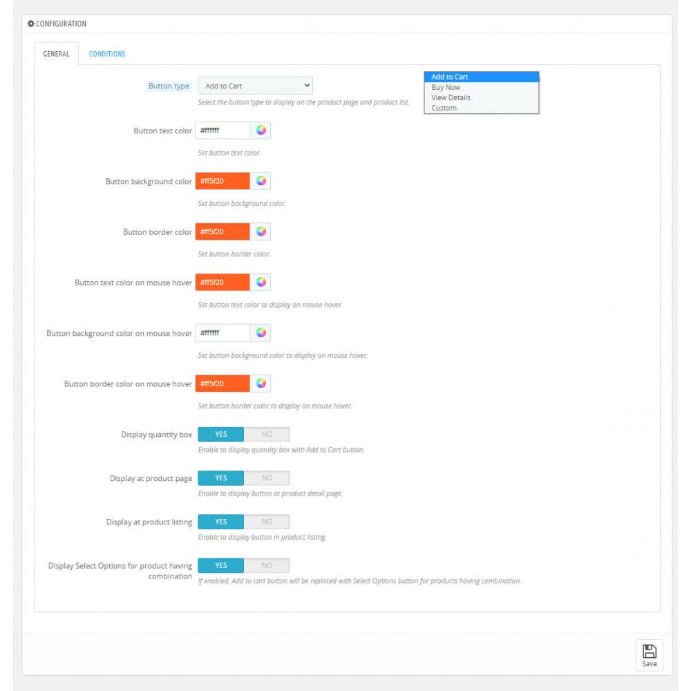 module - Iscrizione e Processo di ordinazione - Pulsante Aggiungi al carrello | Multifunzione - 4
