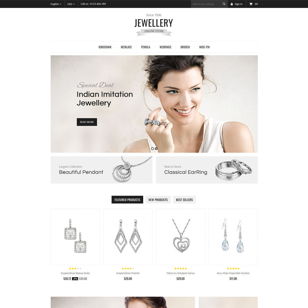theme - Bijoux & Accessoires - Jewelry & Accessories Store - 2