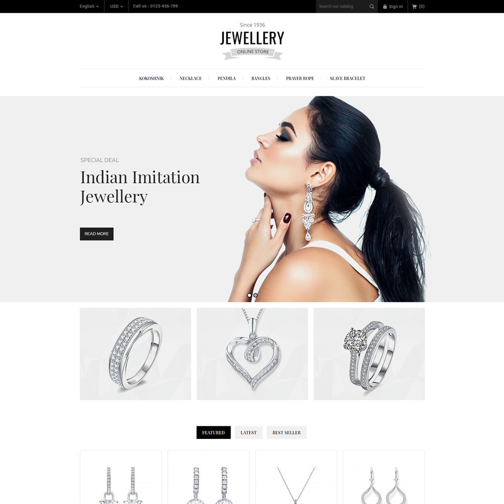 theme - Bijoux & Accessoires - Jewelry & Accessories Store - 3