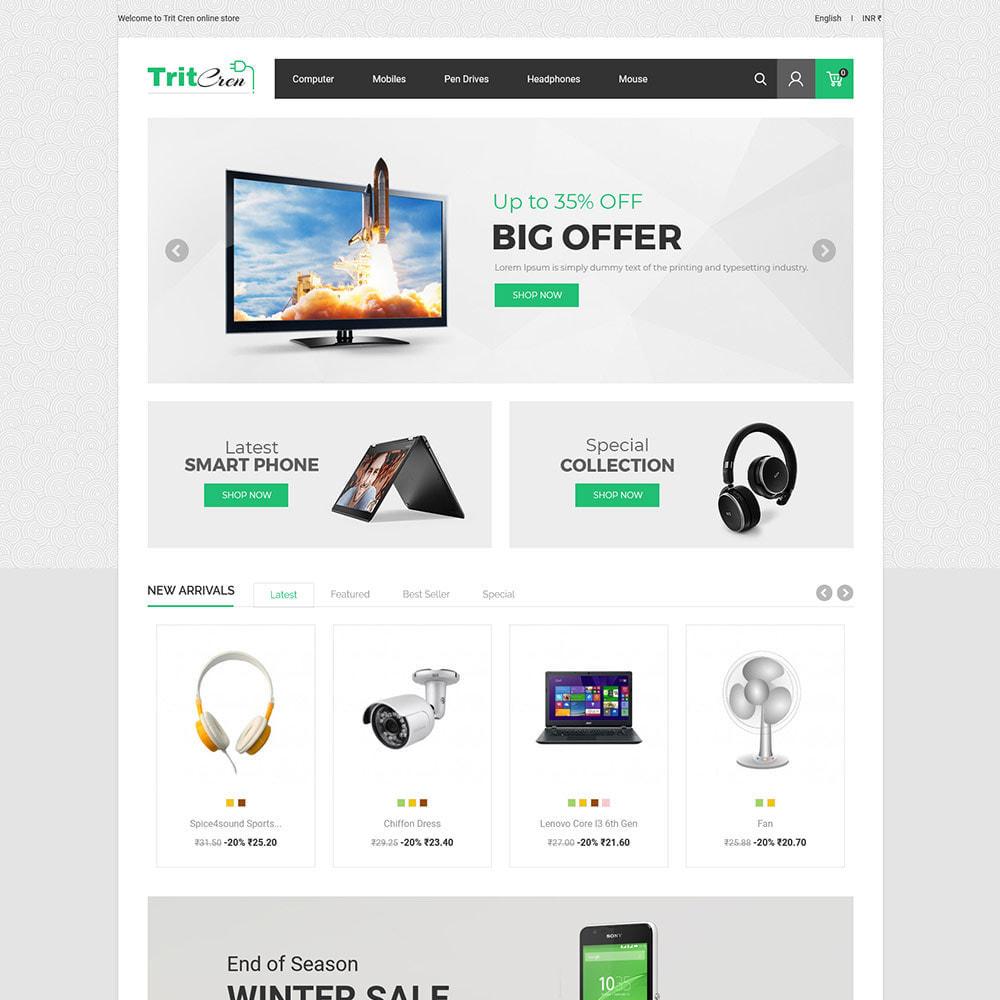 theme - Electrónica e High Tech - Computadora Portátil Electrónica - Tienda - 3