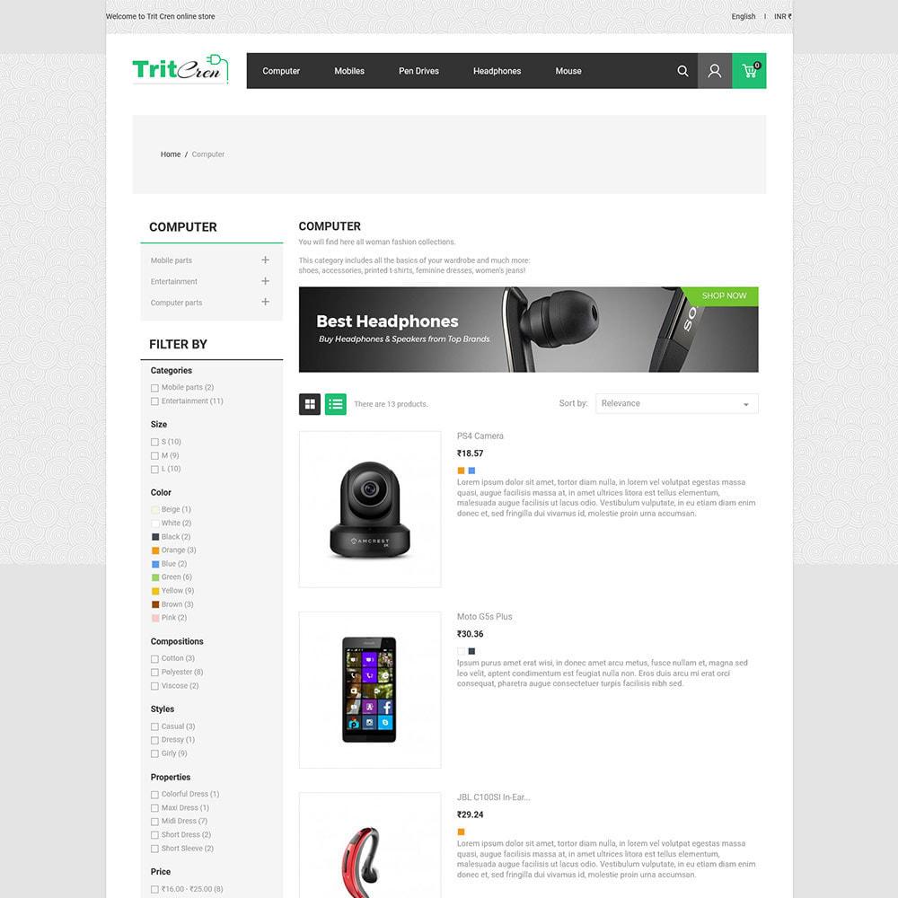 theme - Elektronika & High Tech - Elektronika do komputerów - cyfrowy sklep mobilny - 6