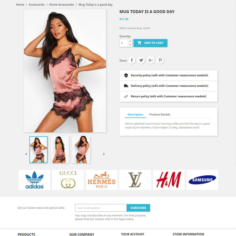 module - Слайдеров (карусельных) и галерей - Brand Slider. Brands & Manufacturers Logos Carousel - 3