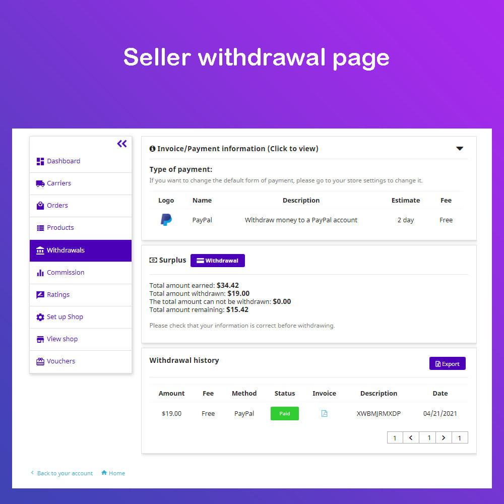 module - Marketplace Creation - Simple Multi Vendor Ecommerce Marketplace - 6