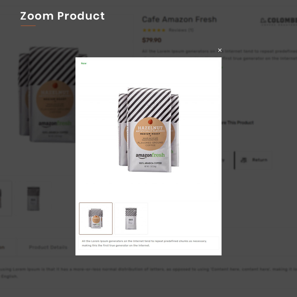 theme - Alimentation & Restauration - Coffee VIP Mega Coffee–Tea Nature–Beans Minimal Store - 10