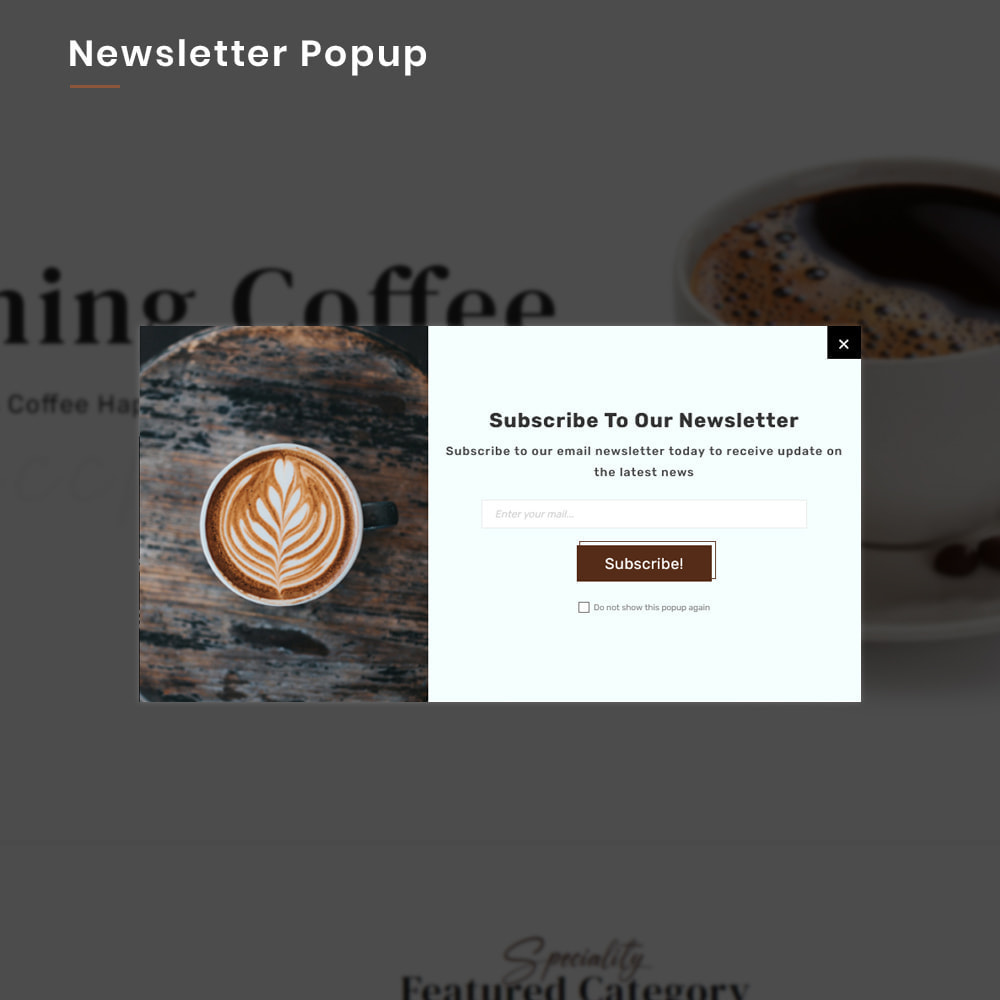 theme - Alimentation & Restauration - Coffee VIP Mega Coffee–Tea Nature–Beans Minimal Store - 11