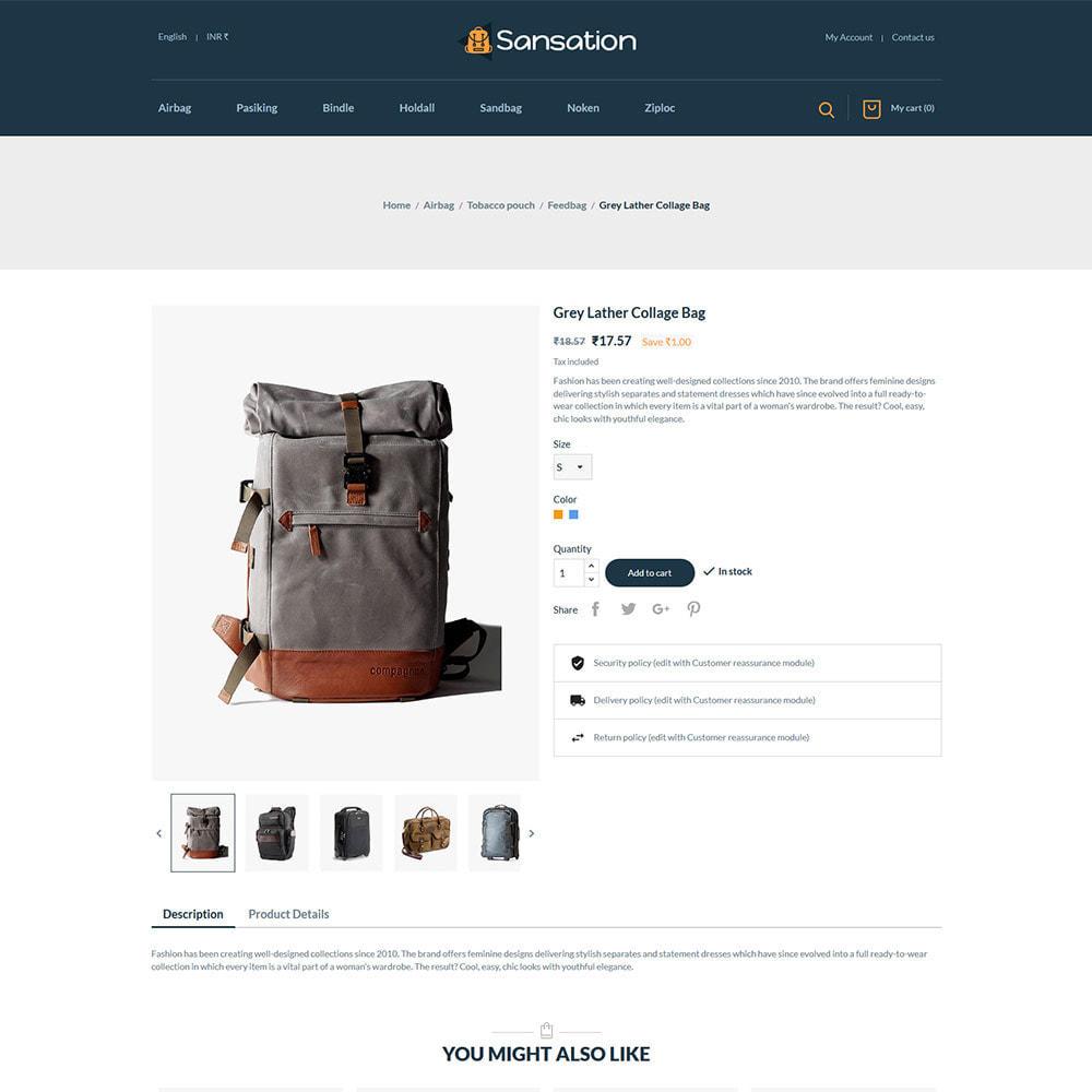 theme - Mode & Schuhe - Sansation Bag - Handtasche Leder Modegeschäft - 6