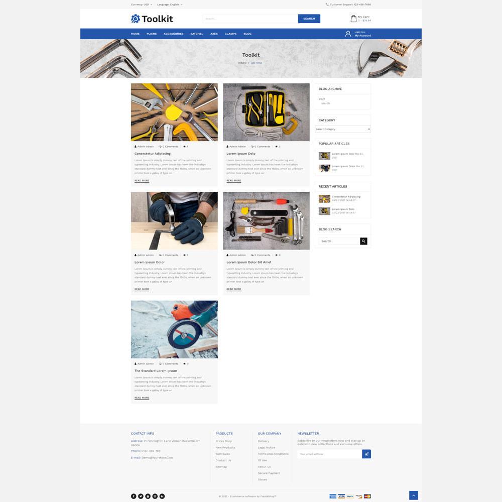 theme - Automotive & Cars - Toolkit Store - 5